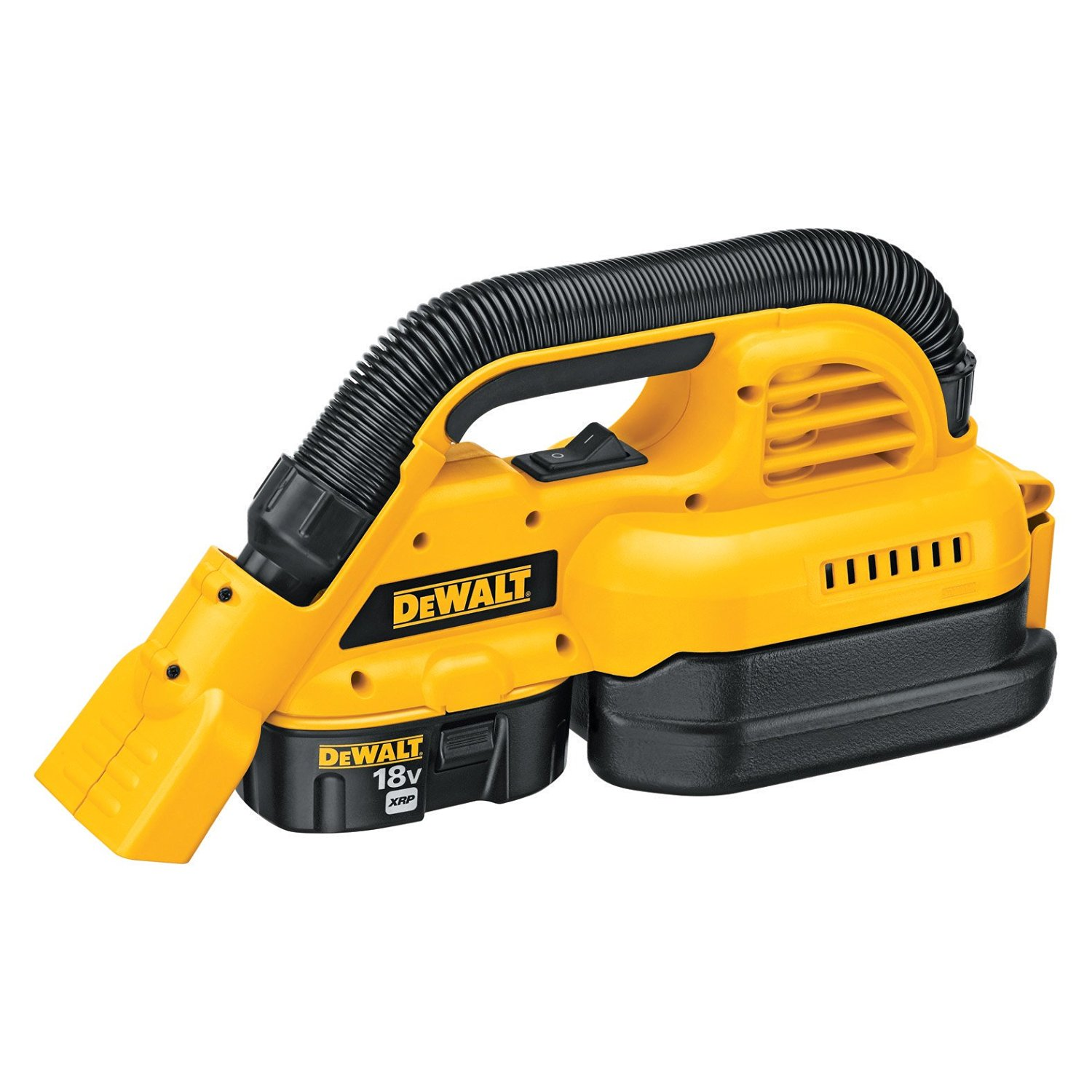 DeWalt 1/2 Gallon 18V Wet/Dry Shop Vacuum