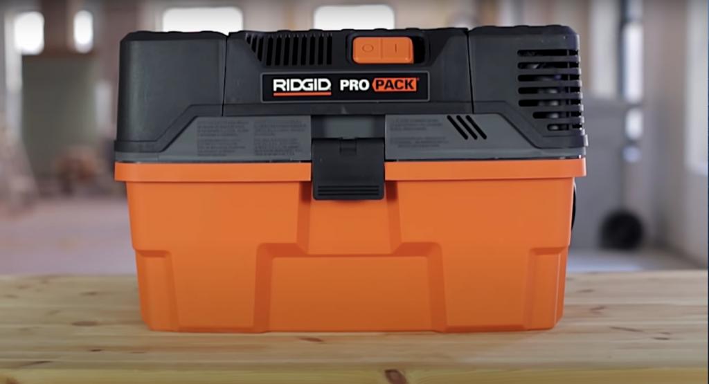 Ridgid WD4522 4.5 Gallon Pro Pack Portable Wet/Dry Vacuum