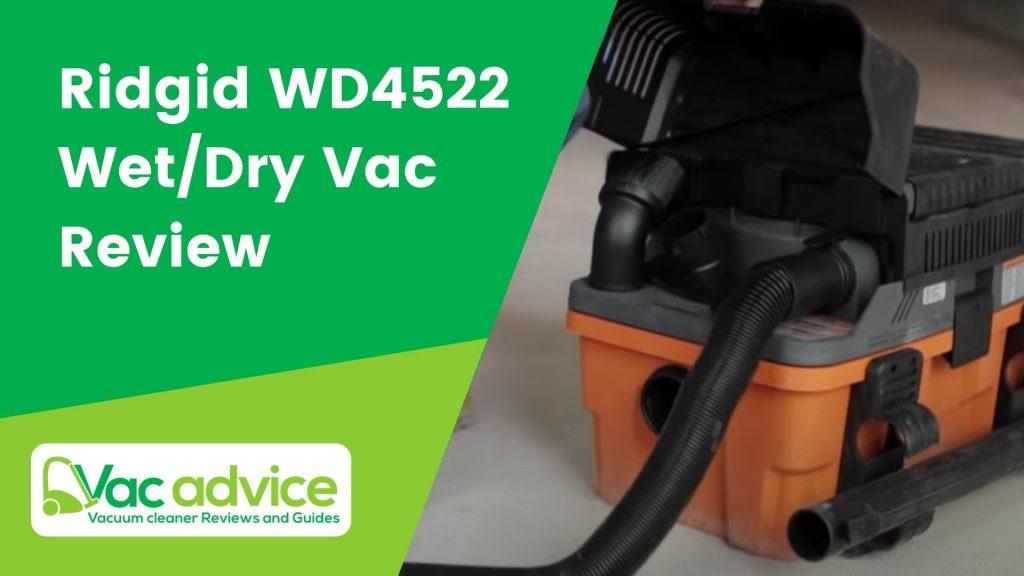 Ridgid WD4522 Review