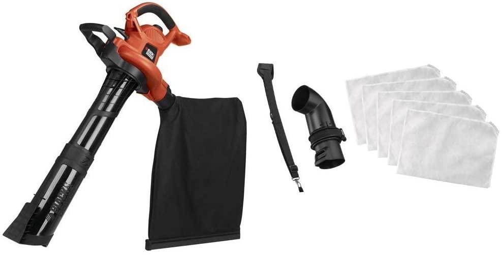 Black+Decker BV6600 3-in-1 Electric Leaf Blower And Vacuum - Accessories