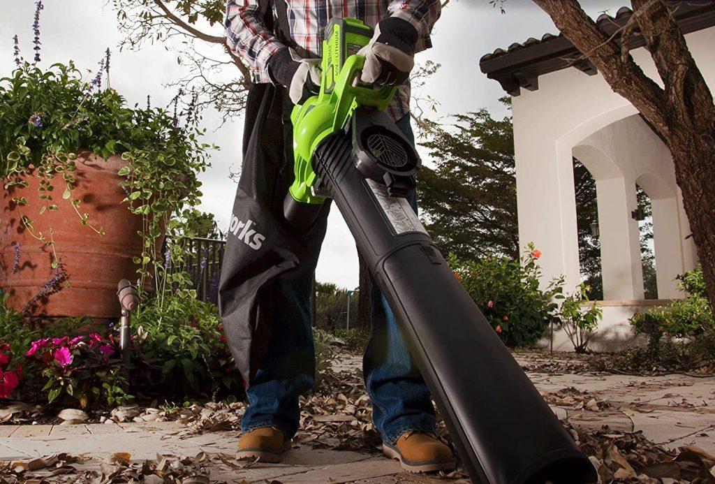 Greenworks 24322 Leaf Blower Vacuum and Mulcher