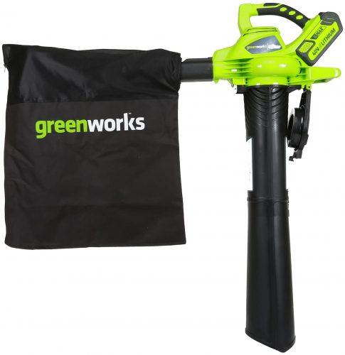 Greenworks 24322 Leaf Blower and Vacuum