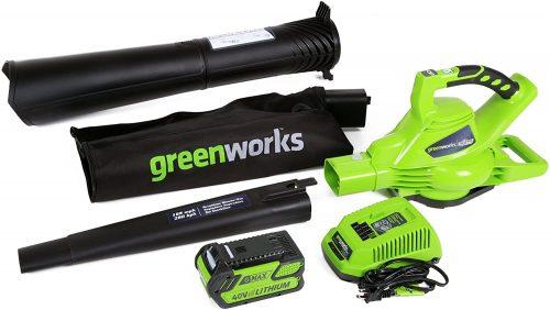 Greenworks 24322 Leaf Blower and Vacuum - Accessories