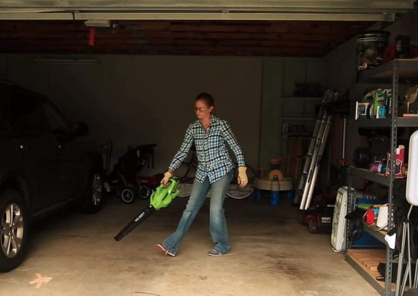 Greenworks 24322 Leaf Blower and Vacuum - Yard Power Tool