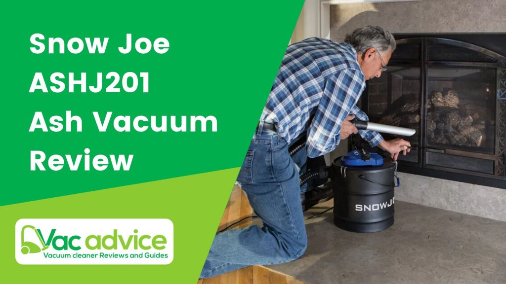 Snow Joe ASHJ201 Ash Vacuum Review