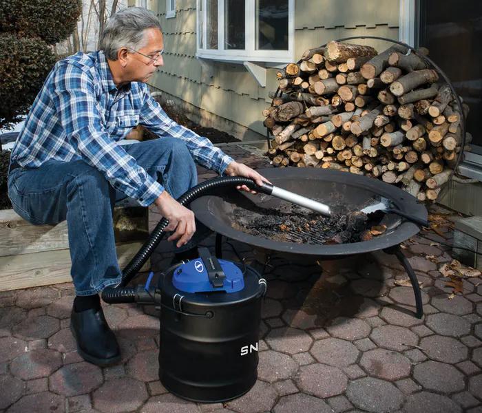 Snow Joe ASHJ201 Ash Vacuum - Wood Pellet Firepit